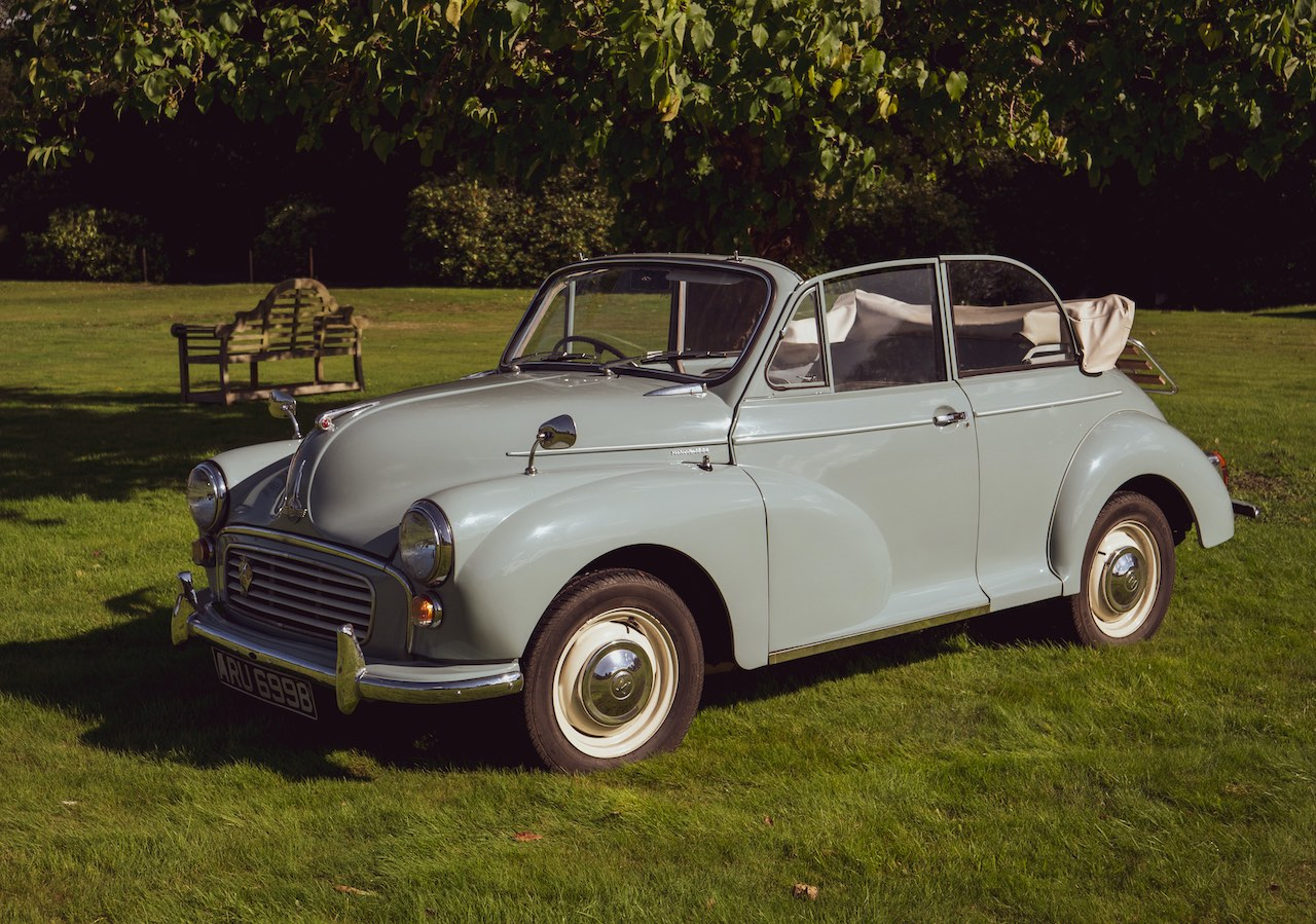 Garden of England Classics Wedding Car Hire Morris Minor Convertible