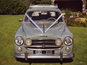 Garden of England Classics Wedding Car Hire Peugeot 403